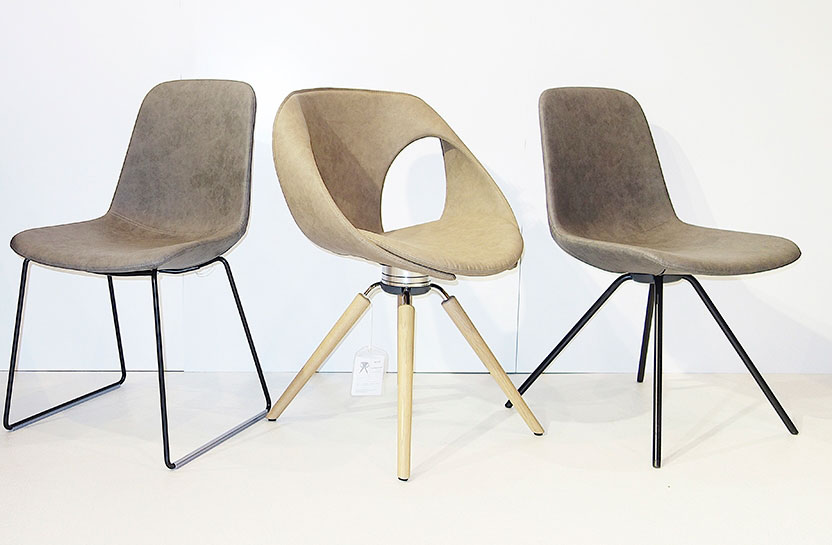 stuhl step von tonon in verschiedenen ausf hrungen schauraum. Black Bedroom Furniture Sets. Home Design Ideas