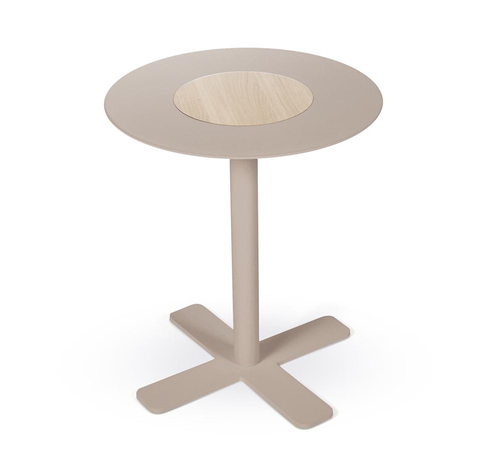 Beistelltisch oder kleiner cafetisch rund schauraum for Kleiner beistelltisch rund